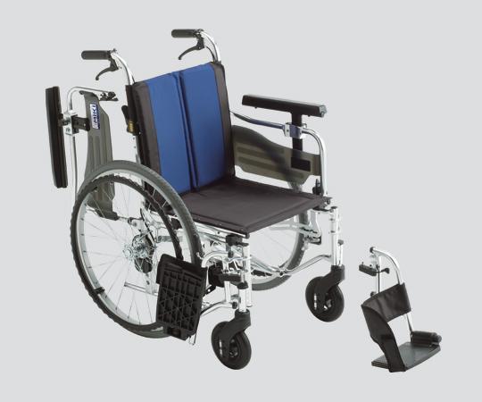 車いす (アルミ製セミモジュール型)BAL-5 自走式  600×990×850・875・900mm 16.1kg