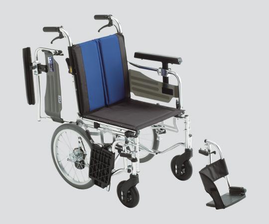 車いす (アルミ製セミモジュール型)BAL-6 介助式  580×950×850・875・900mm 14.6kg