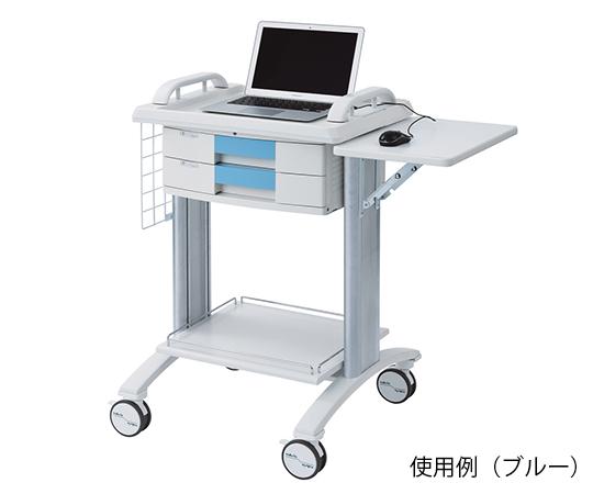 カレンカート2(PC対応)SC-PC1B ブルー 625×608×957mm