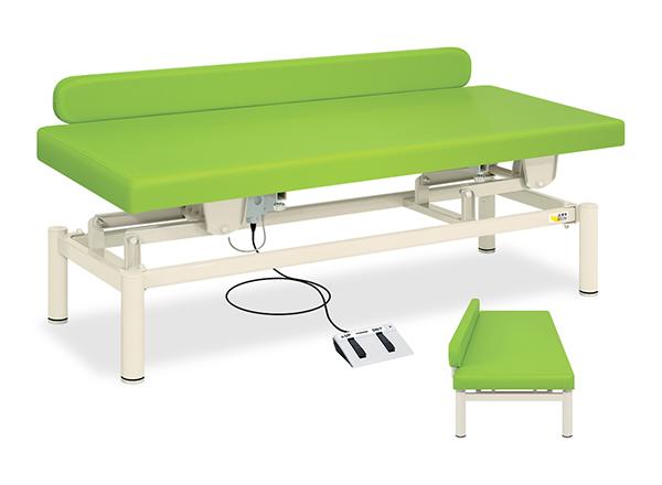 【送料無料/代引き不可】高田ベッド 18色のカラーとサイズが選べるマッサージベッド  有孔LG型電動ハイロー TB-1285U  病院/クリニック