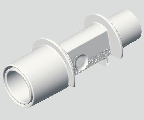 呼気終末二酸化炭素ガス分圧測定器(救急用カプノメータ) エアウェイアダプタ 成人/小児用