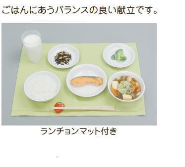イワイサンプル 学校給食指導用展開例【Bセット ごはん】/食品サンプル/栄養指導用フードモデル
