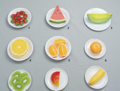 イワイサンプル 糖尿病関連 「果物」1式セット/食品サンプル/栄養指導用フードモデル