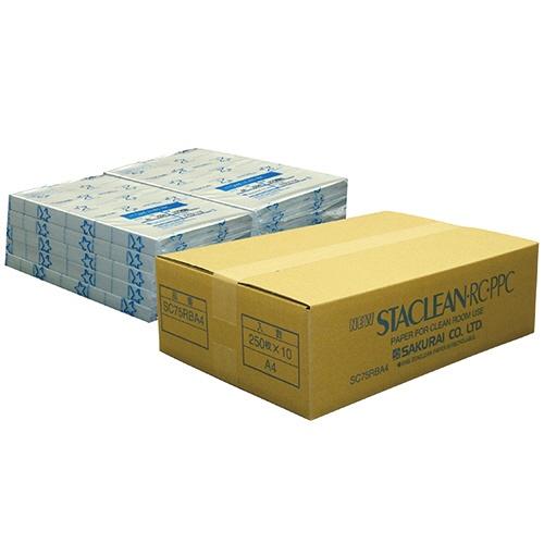 桜井 ニュースタクリンRC.PPC A4 ブルー SC75RBA4 1箱(2500枚:250枚×10冊)