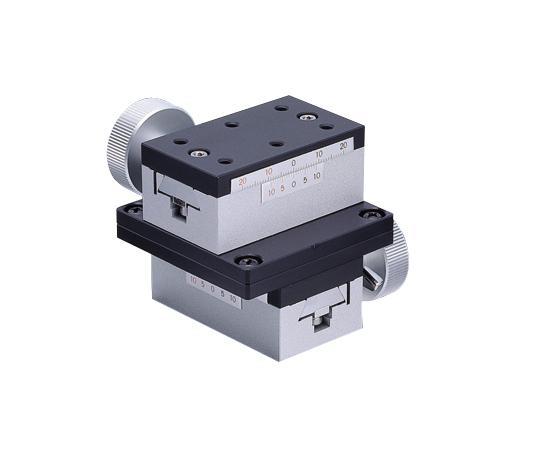 ラックピニオンステージ(XY軸) 34×60(mm)1-8323-02 TAR-34602