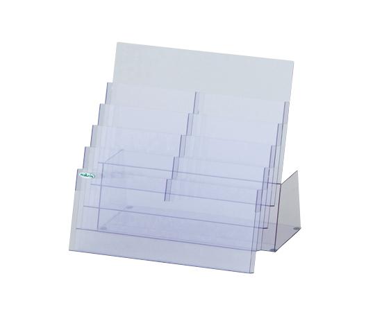 パンフレットラック(A4サイズ対応) PRK2-5 0-4554-11