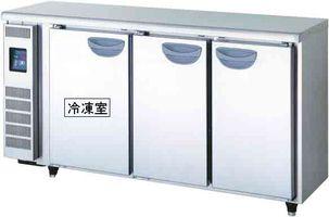 【代引き不可】福島工業株式会社 超薄型冷凍冷蔵庫 TMU-51PE2  冷凍室75L 冷蔵室138L W1500×D450×H800mm 80kg