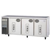 【代引き不可】福島工業株式会社 ヨコ型冷凍庫 YRC-183FE2 413L W1800×D600×H800mm 100kg 内装樹脂鋼板