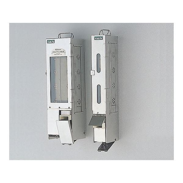 ブラシ消毒器 C-10(2列) ブラシ格納庫のみ (写真左)