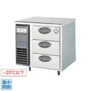 【代引き不可】福島工業株式会社 ドロワーテーブル冷凍庫 YDW-083FM2 123L W755×D750×H800mm 90kg