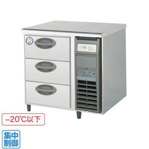 【代引き不可】福島工業株式会社 ドロワーテーブル冷凍庫 YDC-083FM2-R 91L W755×D600×H800mm 85kg