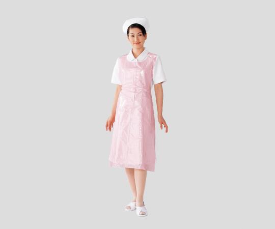 HPCロールエプロンBOX ホワイト/ピンク