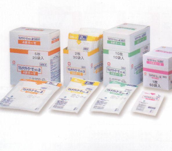 白十字 マルチテトラーゼ !超美品再入荷品質至上! NO.2-5枚 20袋入 滅菌済 好評受付中