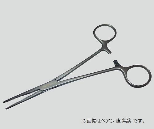 止血鉗子(チタン製) TN-0560845 ペアン 直 無鈎 145mm