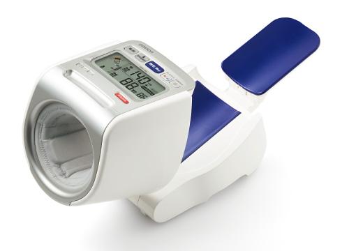 オムロン 測定姿勢チェック表示が正確測定をサポート 上腕式自動血圧計HEM-1021 簡単操作・メモリー機能付き HEM-1020の後継品