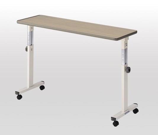 PT-5100 ミディアム 1200×400×650~1000 オーバーテーブル ベッドテーブル シーホネンス 【代引き不可】