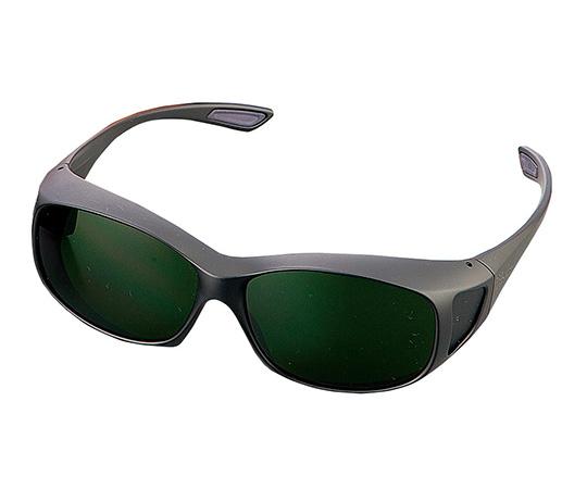 レーザー保護めがね 1-3804-07  RSX-4 YG 2眼式