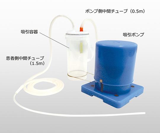 停電・災害・外出時にも電源不要で使える 足踏式吸引器 アモレFS1  本体セット 00162A00