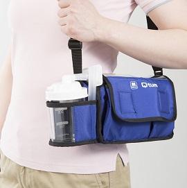 携帯型たん吸引器 Qtum(キュータム) QT-500 小型 外出 持ち運びに便利