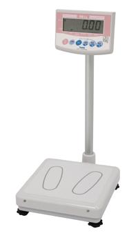 【送料無料/代引不可】デジタル体重計(検定付き) DP-7101PW 一体型 業務用体重計 集団検診 国家検定付 3級