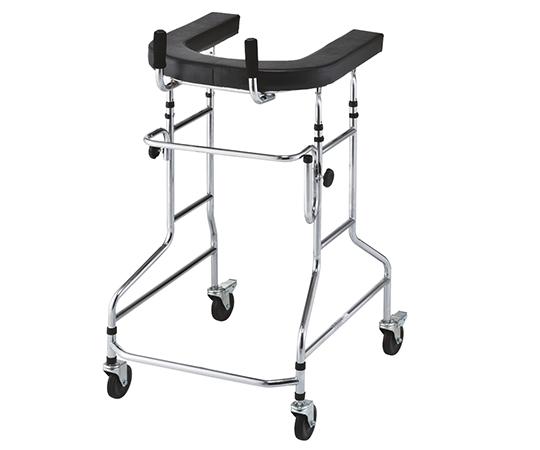 歩行補助器 WALKER NW827 630×730×1000~1250mm お求めやすいスチール製 歩行器