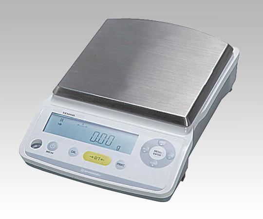 TX2202N 電子天びん(アミディア) 秤量2200g 最小表示0.01mg 皿サイズφ167×181mm 2-8133-13