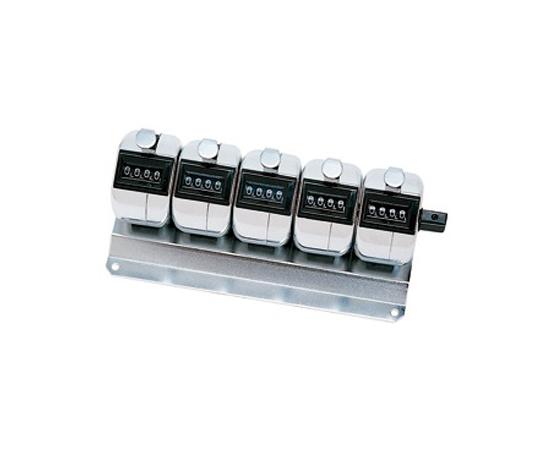 数取器 カウンター 5連式・卓上タイプ H-102M-5