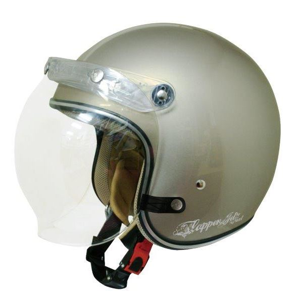 ダムトラックス(DAMMTRAX) ジェットヘルメット フラッパージェットネクスト P.GRAYBEIGE