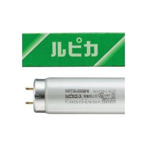 (まとめ)飛散防止形ランプ 直管ラピッド 40形 昼白色×25本