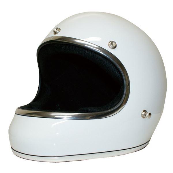 ダムトラックス(DAMMTRAX) ヘルメット AKIRA ホワイト M