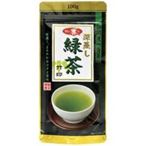 (業務用20セット)朝日茶業 牧の香り深蒸し緑茶 1000 竹 100g