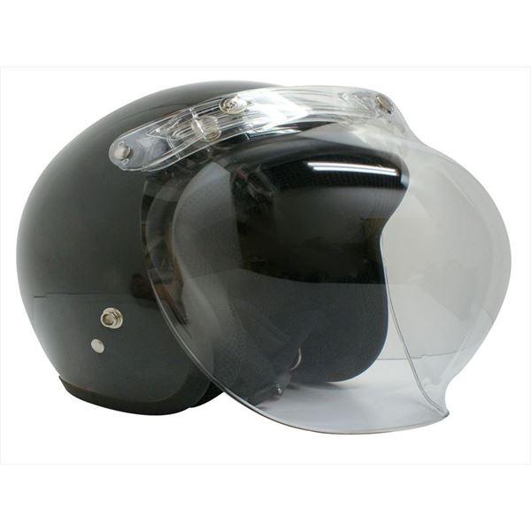 ダムトラックス(DAMMTRAX) ジェットヘルメット ビッグボーイ マックス パールブラック スーパービッグサイズ(~62cm)