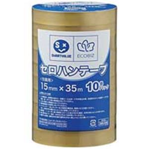 ジョインテックス セロハンテープ15mm×35m200巻 B638J-200