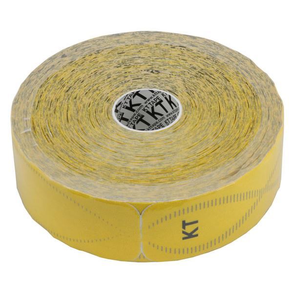 KT TAPE PRO(KTテーププロ) ジャンボロールタイプ(150枚入り) KTJR12600 イエロー (キネシオロジーテープ テーピング)