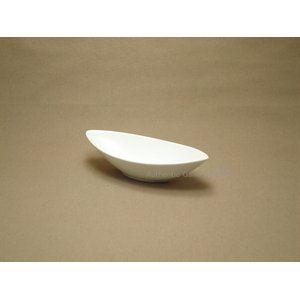 白い器 舟型深鉢 ホワイト Sサイズ (3個セット)