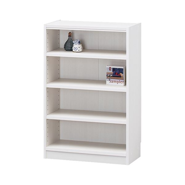 白井産業 木製棚タナリオ TNL-9059 ホワイト