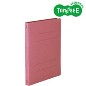 (まとめ)丈夫なフラットファイル バインダー 2穴 <HD> A4-S ピンク 10冊入 20パック