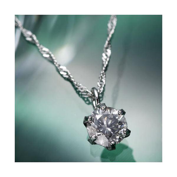 プラチナ 純PT0.25ctダイヤモンドペンダント/ネックレス