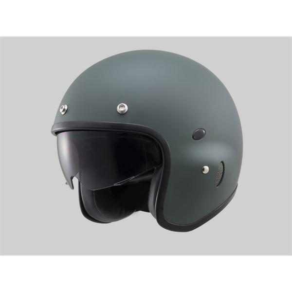 【DAYTONA/デイトナ】HT PH-1 ジェットヘルメット マットグリーン Mフリー
