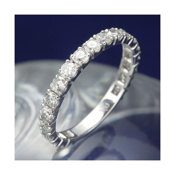 プラチナPt900 1.0ctダイヤリング 指輪 エタニティリング 9号