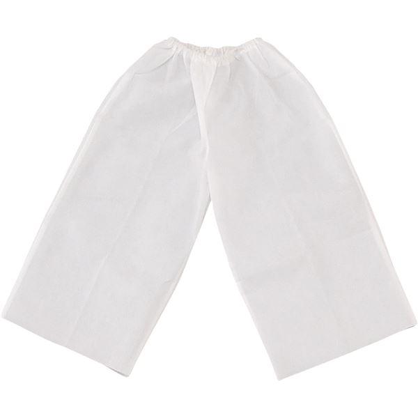 (まとめ)アーテック 衣装ベース 【J ズボン】 不織布 ホワイト(白) 【×30セット】