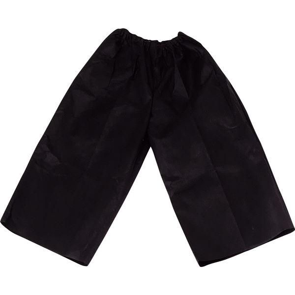 (まとめ)アーテック 衣装ベース 【J ズボン】 不織布 ブラック(黒) 【×30セット】
