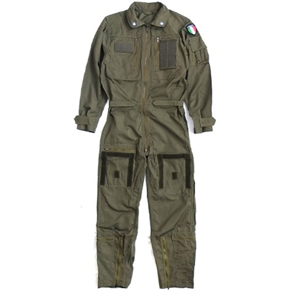イタリア軍放出ノメックス(難燃性)フライトカバーオール未使用デットストック《50(L相当)》