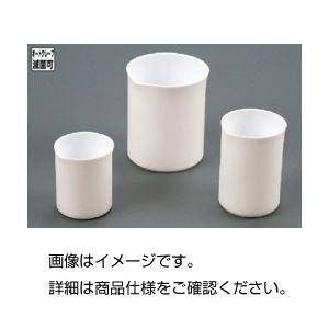 (まとめ)フッ素樹脂ビーカー1000ml【×3セット】