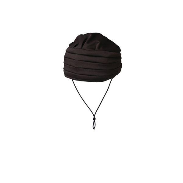 (まとめ)キヨタ 保護帽 おでかけヘッドガードEタイプ(ターバンタイプ)M ブラウン KM-1000E【×2セット】