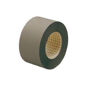 (業務用50セット) プラス 製本テープ/紙クロステープ 【50mm×12m】 裏面方眼付き AT-050JC 濃灰