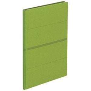 (業務用20セット) プラス 背幅伸縮フラット セノバスFL-021SS 緑10冊