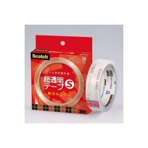(業務用100セット) スリーエム 3M 超透明テープS BH-24N 紙箱入