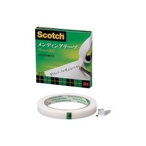 (業務用100セット) スリーエム 3M メンディングテープ 810-3-12 12mm×50m