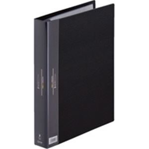 (業務用30セット) キングジム ヒクタス クリアファイル/バインダータイプ 【A4/タテ型】 7139W ブラック(黒)